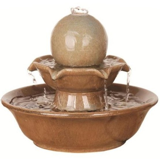 Brooks 8-Inch Tall Tabletop Fountain Best Price