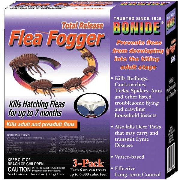 Total Release Flea Fogger 3 Pack 6 Oz.