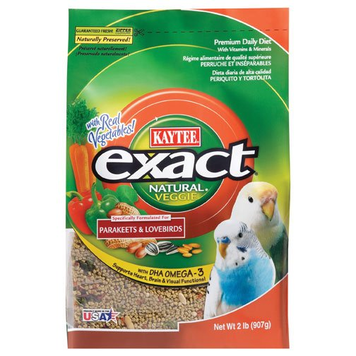 Exact Veggie Natural Parakeet - 2 lbs Best Price