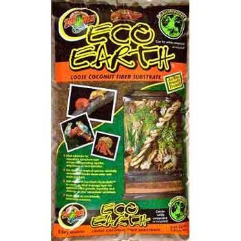 Eco Earth Loose Coconut Fiber Substrate for Terrariums - 8 qt. Best Price