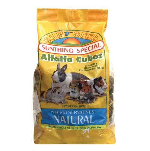 Alfalfa Cubes for Small Pets - 2 lbs Best Price