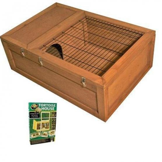 Wood Tortoise House - 36 X 24 X 12 Best Price