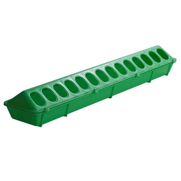 Flip-top Poultry Feeder 20 in / Color (Lime) Best Price