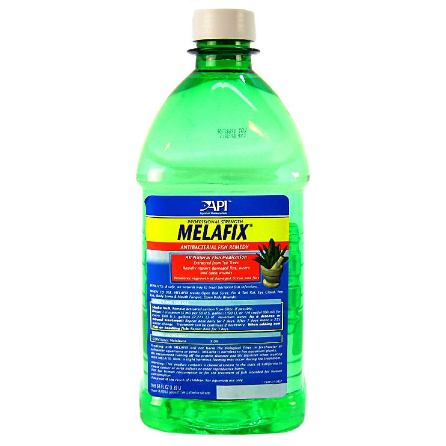 Melafix Antibacterial Fish Remedy / Size 64 Oz.