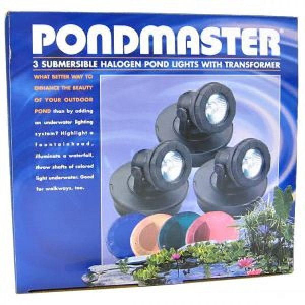 Halogen Pond Light Kits / Lights (Three) Best Price