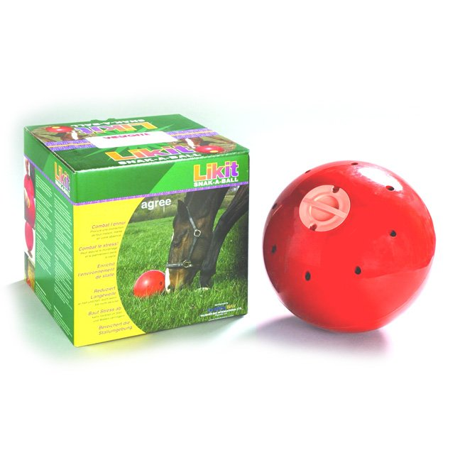 Snak-A-Ball for Horses / Color (Red) Best Price