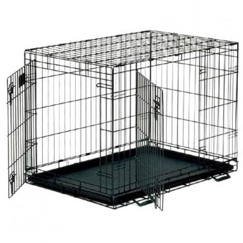 Life Stages Double Door Dog Crate / Size 36l X 24w X 27h