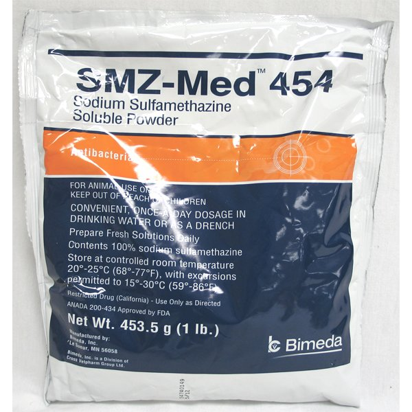 Smz-med 454 Soluble Powder - 1 lbs Best Price