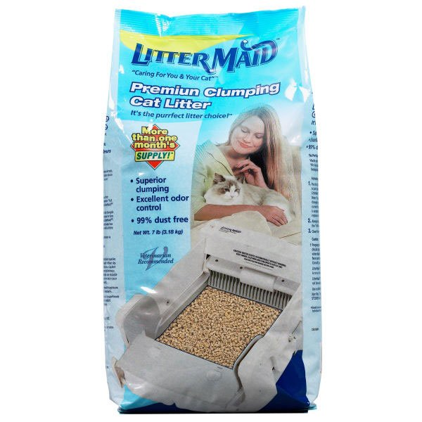 Littermaid Premium Clumping Cat Litter 7 Lbs