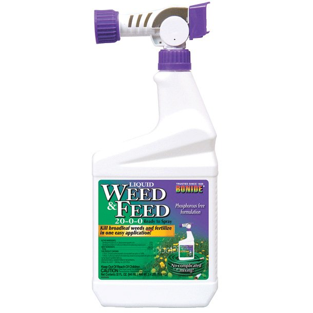Weed and Feed Lawn Weed Control 32 oz. Best Price