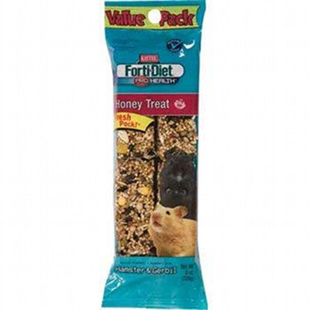 Forti Diet Hamster And Gerbil Honey Stick 8 Oz.