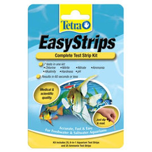 Easystrips Complete Aquarium Testing Kit - 25 pk. Best Price