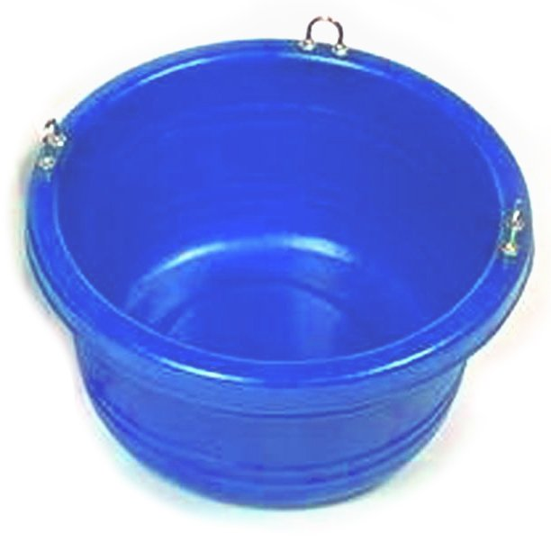 Horse Feed Tub - 30 quart / Color (Blue) Best Price