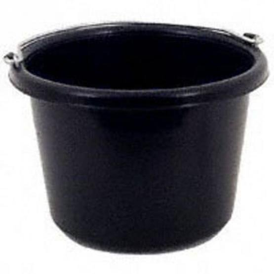 Black Feeding Pail - 8 qt. Best Price