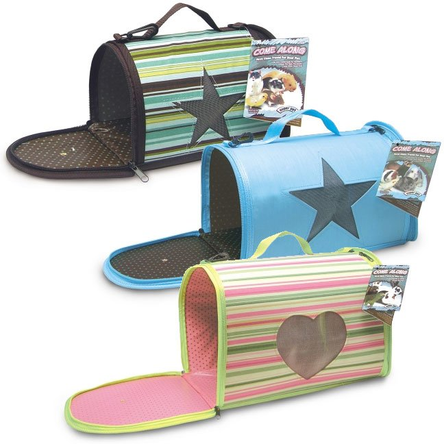 Super Pet Come Along Carrier For Small Animals / Size Medium