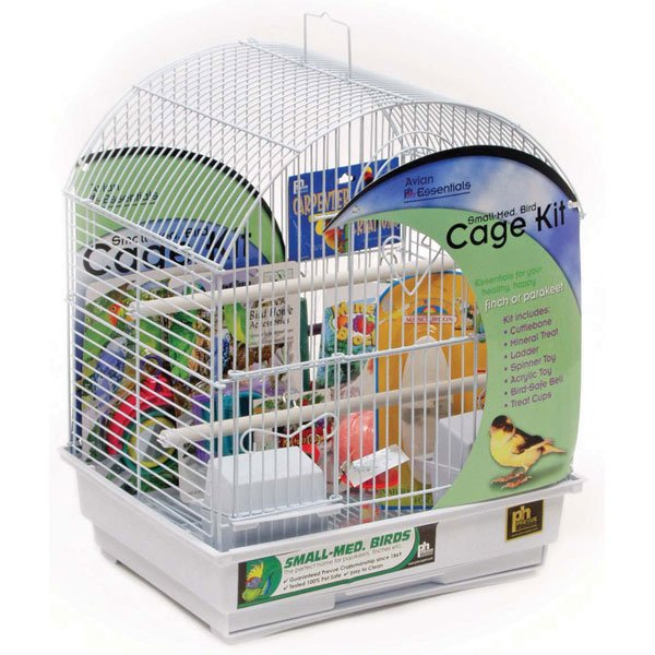 Round Roof Bird Cage Kit Small