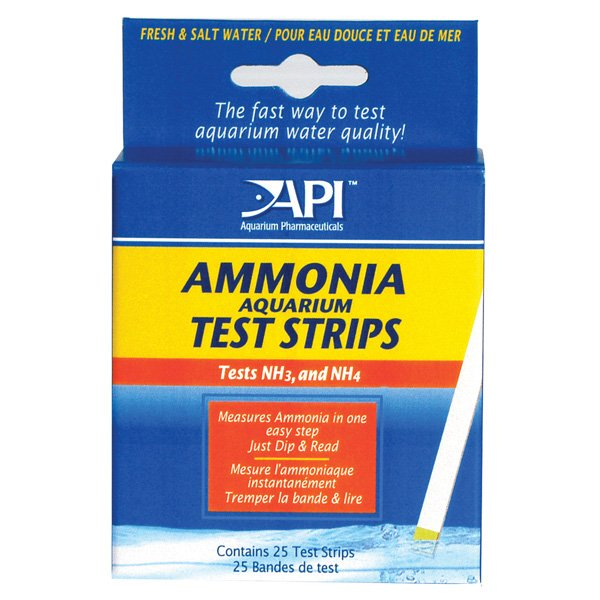 Ammonia Aquarium Test Strips 25 Strips Best Price