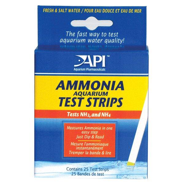 Ammonia Aquarium Test Strips 25 Strips