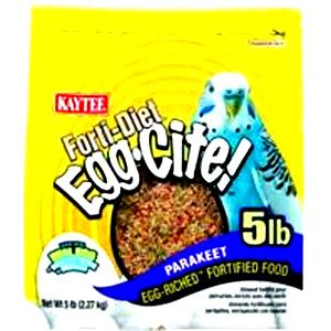 Parakeet Forti Diet Eggcite 5 Lbs