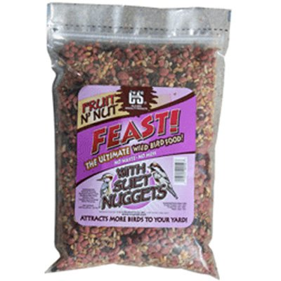 Fruit N Nut Feast for Wild Birds - 3.5 lbs Best Price