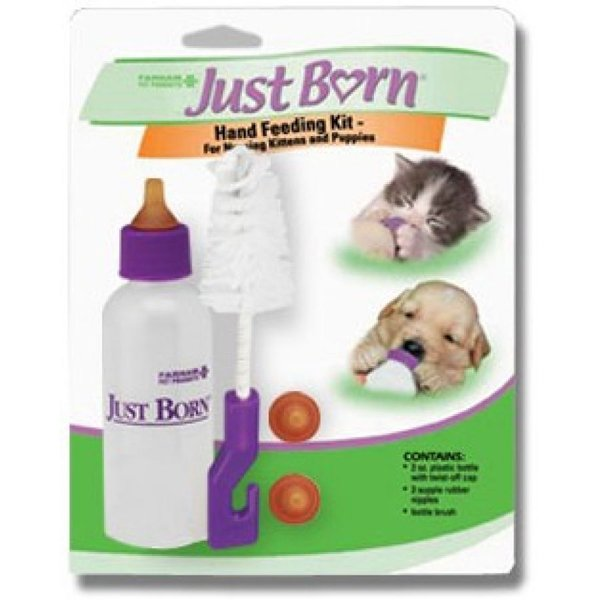 Just Born Nursing Bottle For Dogs And Cats 2 Oz.
