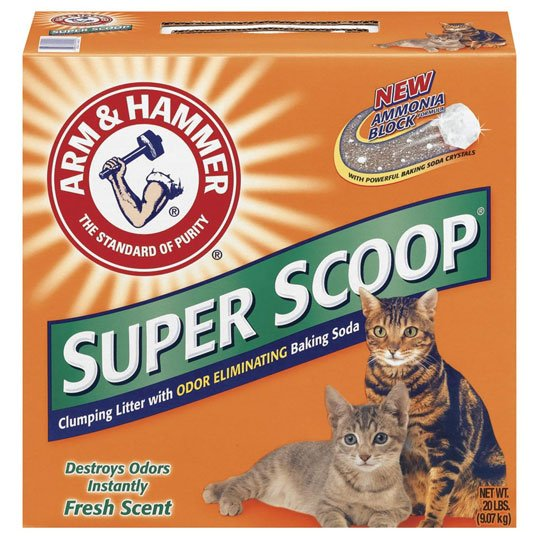 Super Scoop Clump Scented Litter 20 Lbs Case Of 2