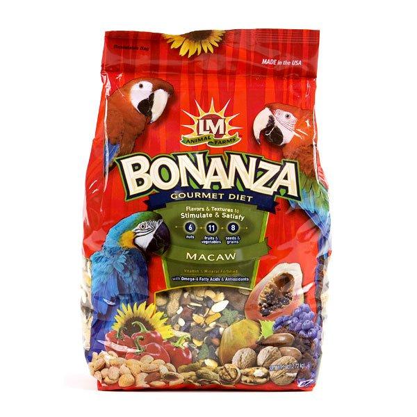 Bonanza Macaw Food 6 Lb