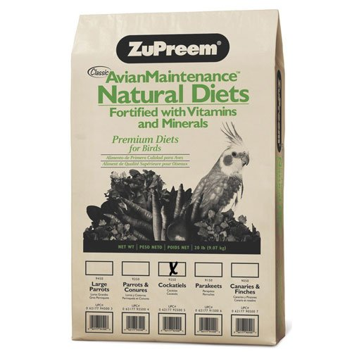 Natural Diet for Cockatiels - 20 lbs Best Price