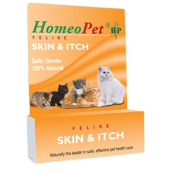 Homeopet Skin and Itch Feline Remedy - 15 ml. Best Price