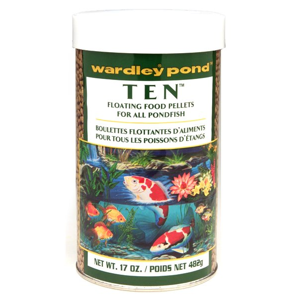 Ten Pond Pellets Pond Fish Food / Size 17 Oz.