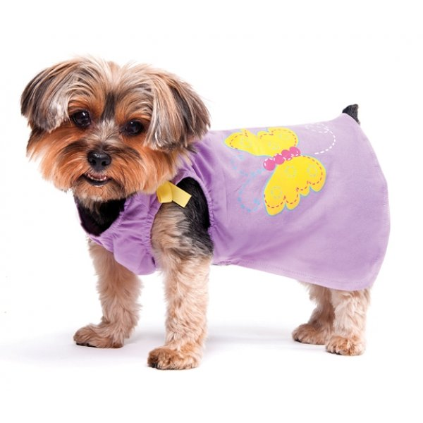 Butterfly Dress for Dogs - Lilac XXSmall Best Price