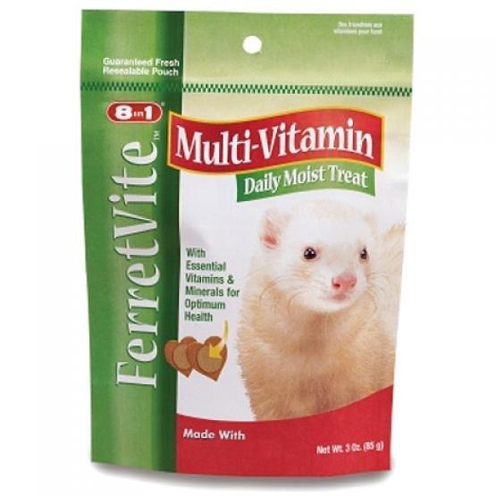 Ferretvite Daily Vitamin Supplement Treat For Ferrets 3 Oz
