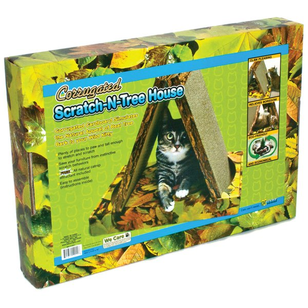 Scratch N Tree House for Cats Best Price