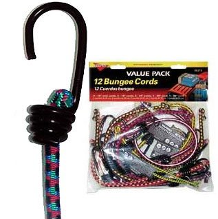 Bungee Cords - 12 pack Best Price
