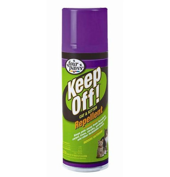 Keep Off Indoor Outdoor Repellent For Cats And Kittens 6 Oz.