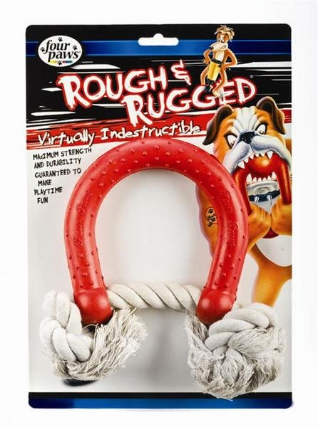 Rough And Rugged Horse Shoe Rope Toy