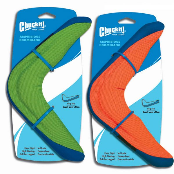 Chuckit Amphibious Toys For Dogs / Type Boomerang