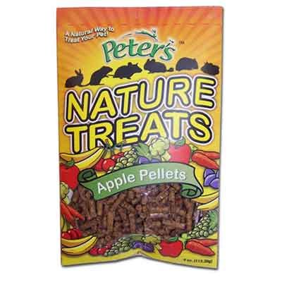 Peters Nature Treats Apple Pellets Small Animal Treats - 4 oz. Best Price