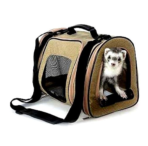 Designer Pet Tote For Ferrets Rabbits