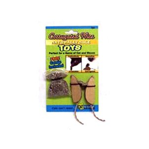 Corrugated Mice With Catnip - 2 pk. Best Price