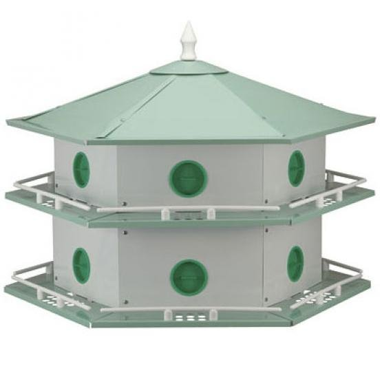 12-Apartment Aluminum Purple Martin House Best Price