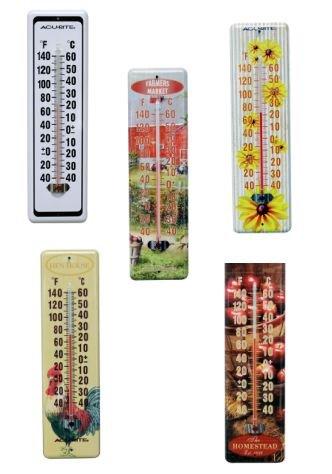 Indoor / Outdoor Thermometer - 8 in. Best Price