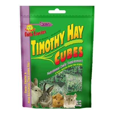 Falfa Cravins Timothy Hay Cubes Small Animal Food - 16 oz. Best Price