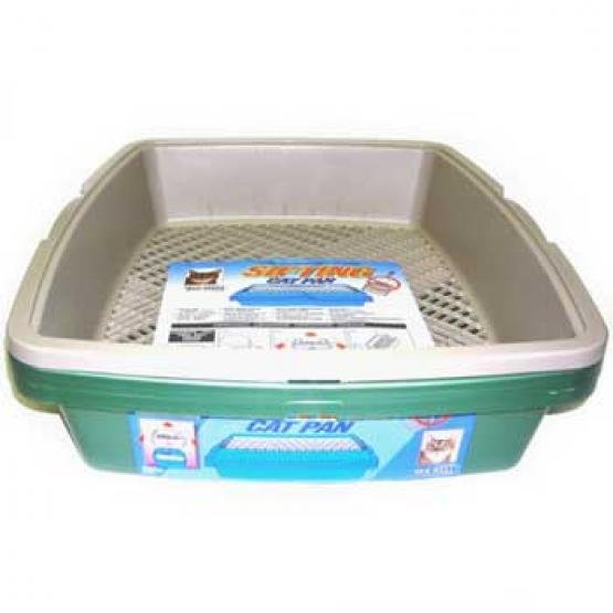 Cat Sifting Litter Pan - Unbreakable Best Price