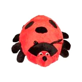 Pond Hoppers Plush Ladybug Dog Toy - 14 in.