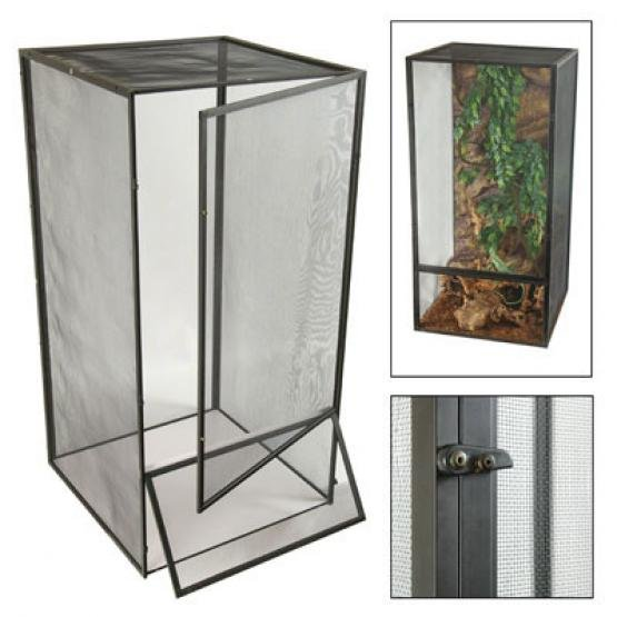 Reptibreeze Open Air Screen Cage / Size (Medium) Best Price