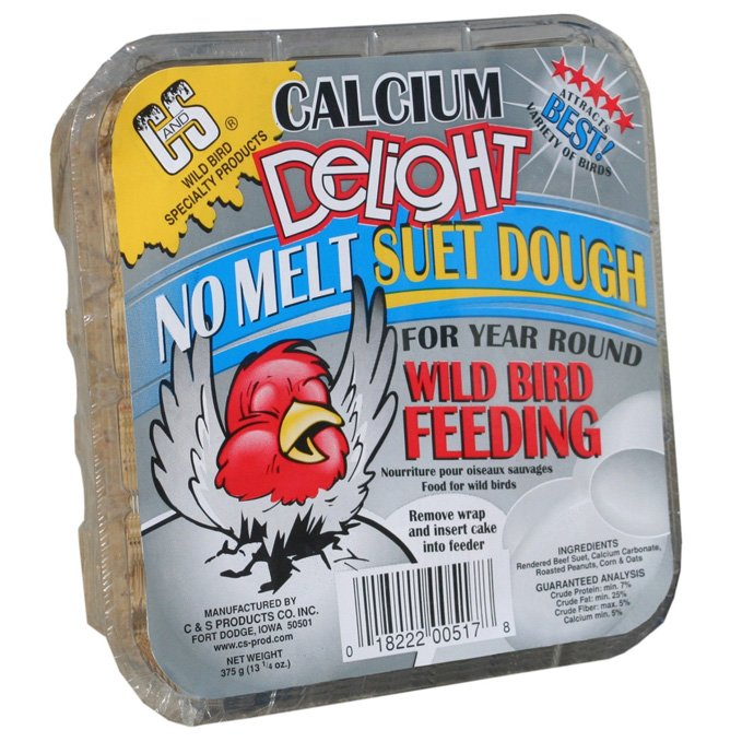Calcium Delight Suet Dough for Wild Birds - 16 oz. Best Price