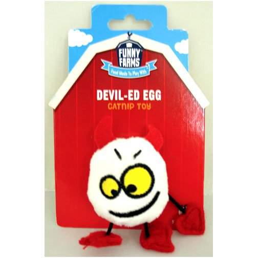 Devil-ed Egg Cat Toy Best Price