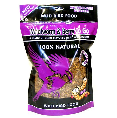 Mealworm And Berry To Go Wild Bird Food / Size 3.52 Oz.