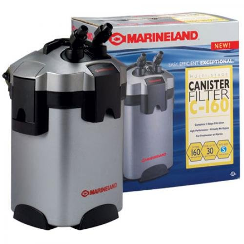 Marineland C 160 Aquarium Canister Filter Up To 30 Gal